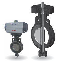 i02 Series HP Butterfly Valve